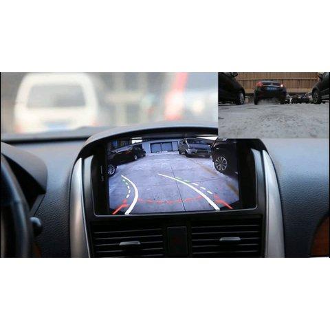 Универсальная автомобильная камера заднего вида СS-8681A с динамическими линиями парковки Превью 4