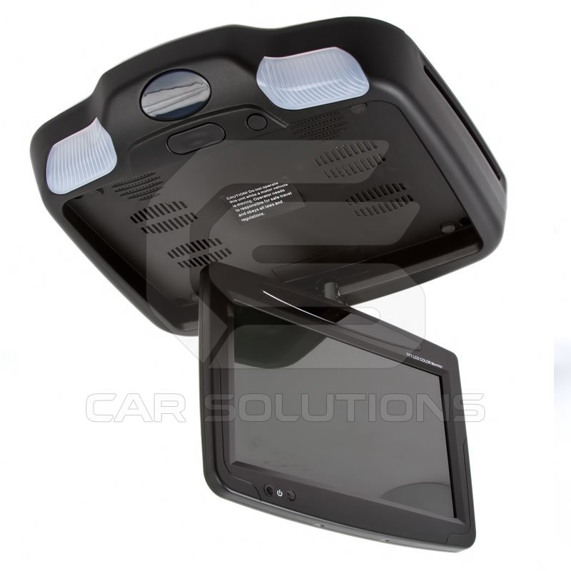 9 Quot Car Flip Down Monitor With Dvd Player Black Car