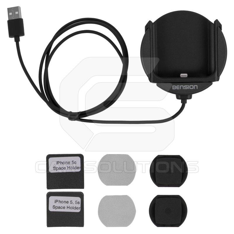 iphone 5 cradle for dension gateway 500s pro bt ip5lcru. Black Bedroom Furniture Sets. Home Design Ideas