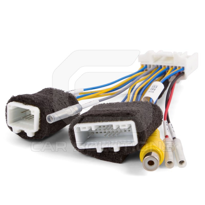 Car Camera Connection Cable For Nissan With Connect Monitors Of 1 2 3 Generation 24036bg00a on nissan wiring diagram
