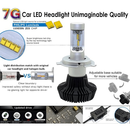 Car LED Headlamp Kit UP-7HL-H10W-4000Lm (H10, 4000 lm, cold white)