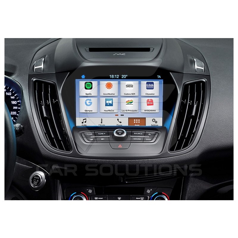 Video Interface for Ford Explorer, Mustang, F150, Kuga, Focus 2016– MY with  Sync 3 Monitor