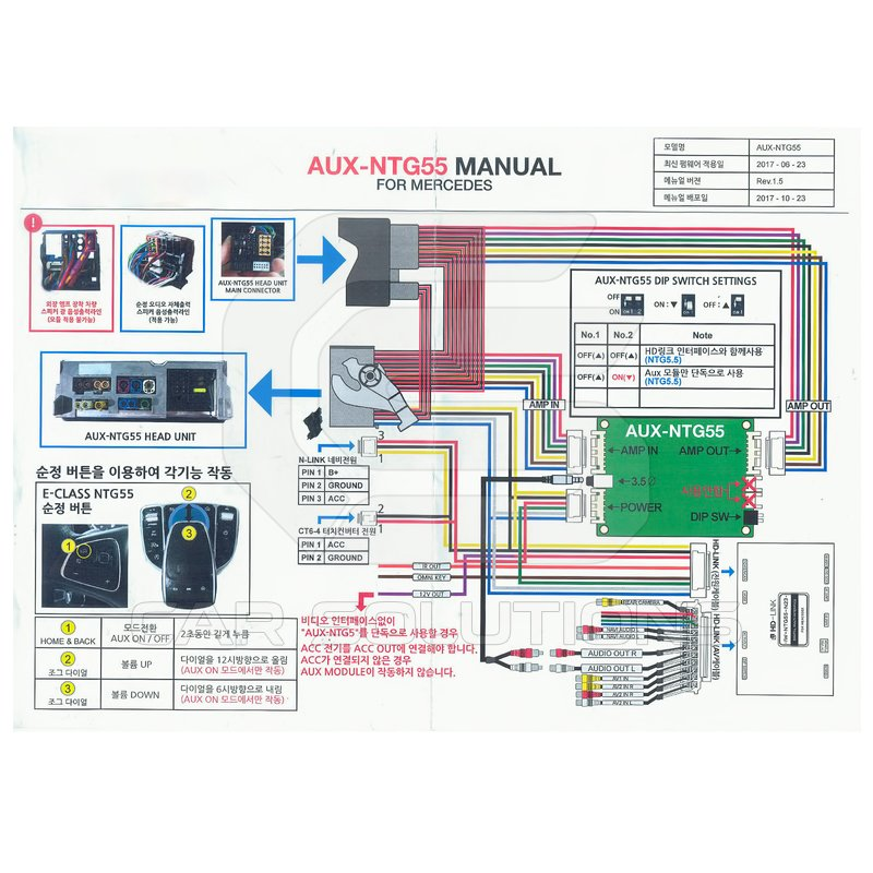 Aux Module For Mercedes  Ntg 5 5 System