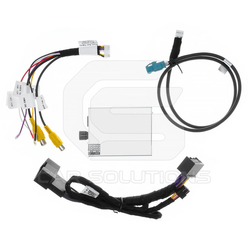 Rear View Camera Connection Adapter for Audi MMI 3G+, Volkswagen Touareg