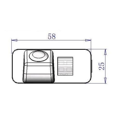 Cámara de visión trasera para Ford Mondeo Ghia X Vista previa  4