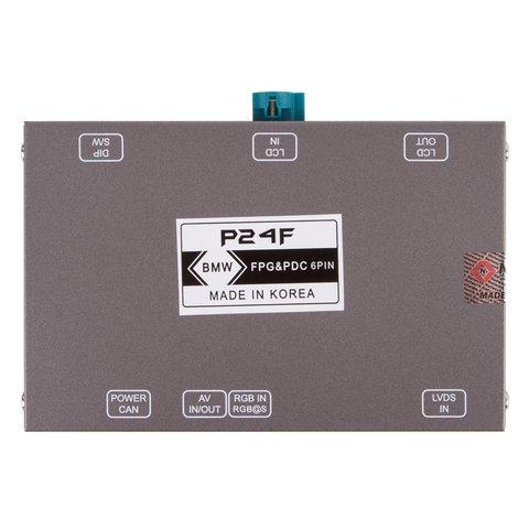 Адаптер подключения камеры переднего вида для BMW с системой CIC- HIGH(NBT) Превью 1