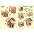 IGROTECO Country House 4 in 1 Building Set - /*Preview|product*/