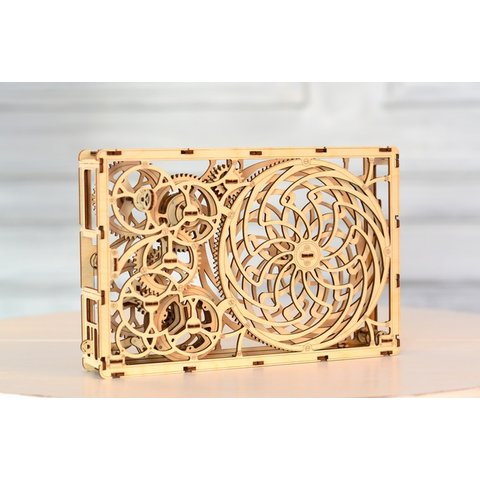 Wooden Mechanical 3D Puzzle Wooden.City Kinetic Picture Preview 5