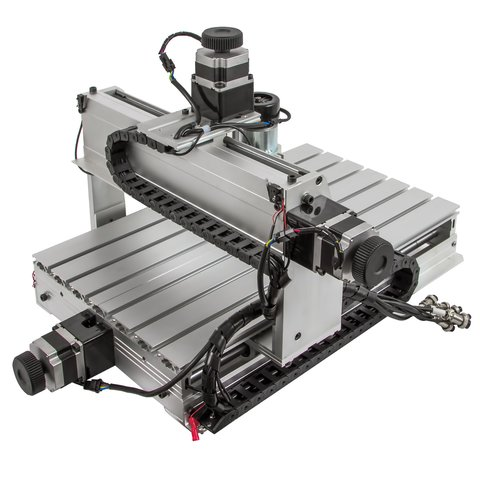 3-axis CNC Router Engraver ChinaCNCzone 3040Z-DQ (500 W) Preview 2