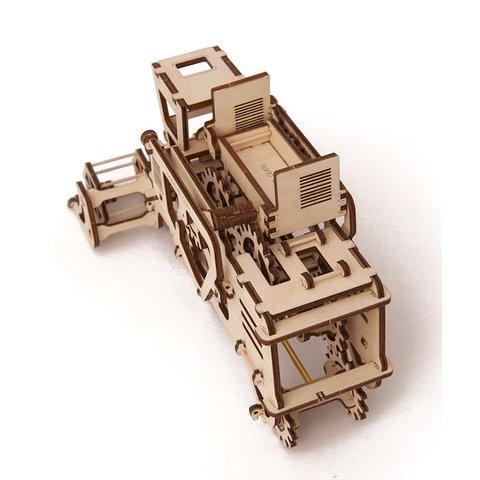 Механический 3D-пазл UGEARS Комбайн - Просмотр 3