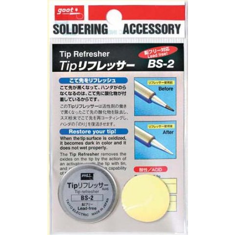 soldering tip refresher goot bs 2 toolboom online store. Black Bedroom Furniture Sets. Home Design Ideas