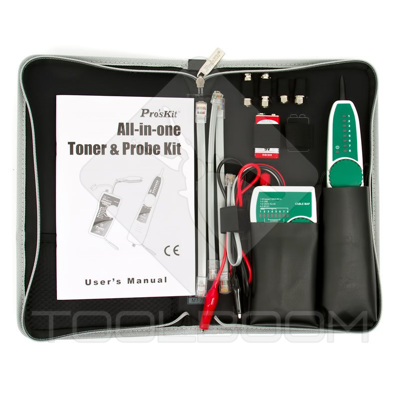 Ethernet toner and probe