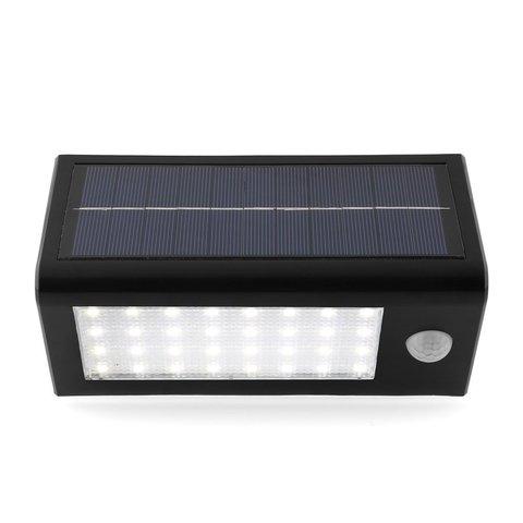 Farol led para la calle sl 500 panel solar sensor de - Farol solar para jardines y exteriores ...