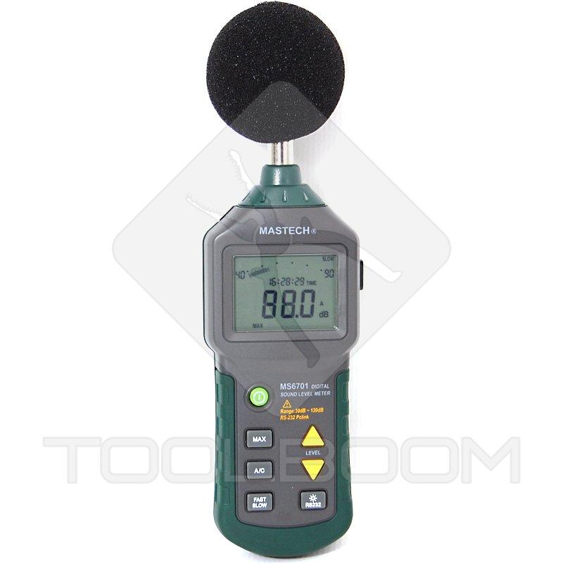 Sound Frequency Meter : Digital sound level meter mastech ms