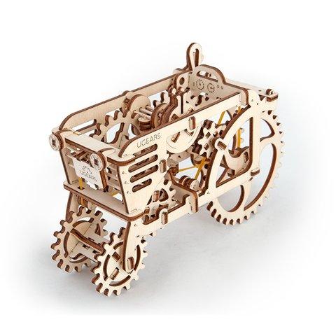 Трактор UGears механический 3D пазл купить